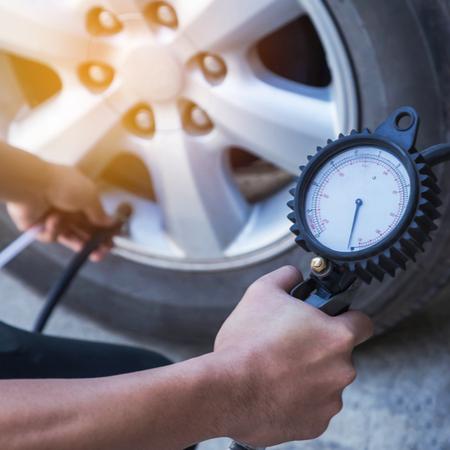 conciergerie sur route, pression des pneus